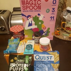 Keto snack bundle (with magic spoon cereal)